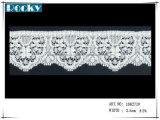 브래지어를 위한 의복 부속품 레이스 손질 스판덱스 레이스
