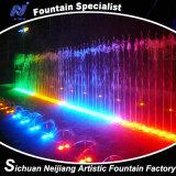 Musikalischer Wasser-Brunnen mit Lichteffekten