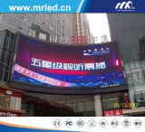 Schermo di visualizzazione esterno del LED di colore completo (P10mm (AXT)) per Advertizing Caso