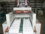 Automatische Four Line Plastic T-Shirt Wärme-Dichtung und Cold Cutting Bag Making Machine