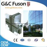 Цена ненесущей стены покрытия силы алюминиевое стеклянное