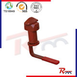 Tipo de lixo Semi-Trailer Container Twist Lock
