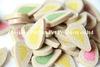 محبوبة إمداد تموين [بت فوود] [دوغ فوود] متعة أسنانيّة يشكّل [وتر-دروبس] مع مختلفة لون ونكهة