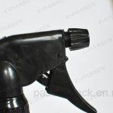 silberne Aluminiumflasche des spray-500ml mit starker Triggerspray-Pumpe (PPC-ACB-009)