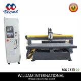 Grabador del CNC del movimiento del vector que talla la máquina
