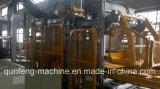 Bloco de cimento oco que faz a máquina