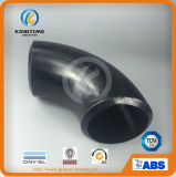 ASME B16.9 강관 이음쇠 (KT0019)에 부딪치 용접된 탄소 강철 팔꿈치