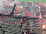 Kit d'outils à main Powertec 186PCS avec étui en aluminium