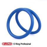 Колцеобразное уплотнение высокой эффективности голубое резиновый для запечатывания