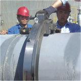 Corte frío de la fractura del tubo hidráulico del marco y máquina que bisela