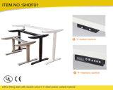 강철 수동 조정가능한 고도 컴퓨터 테이블