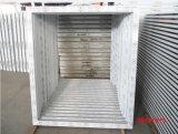 Prix usine de profil de PVC de marque de conque de guichet de glissement de PVC