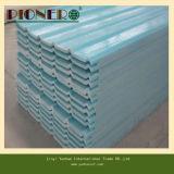 Feuille en plastique ondulée de toiture de PVC