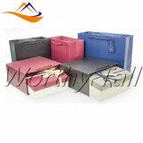 La aduana al por mayor imprimió coloreado rectángulo de regalo hecho a mano, de papel, caja de cartón