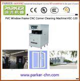 PVC Windows 제작 기계 UPVC Windows 구석 청소 기계
