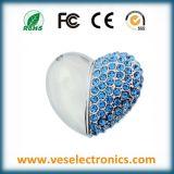 Het hart Gestalte gegeven Geheugen van de Flits van Juwelen USB