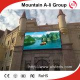 El panel a todo color de P6 LED para el edificio al aire libre que hace publicidad