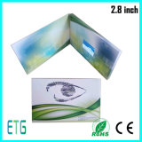 Горячее сбывание и дешевая поздравительная открытка LCD 2.4 дюймов