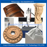 Machados do CNC 4 que cinzelam a espuma dos machados da máquina/CNC 4, máquina de gravura de madeira do cilindro