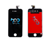 Affichage à cristaux liquides de téléphone pour l'Assemblée d'étalage d'écran tactile LCD de l'iPhone 4
