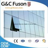 Prix usine en verre en aluminium normal australien de mur rideau