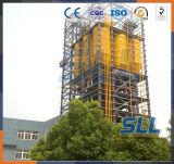 Matériau de construction sec de système de régulation d'usine de mortier faisant la machine