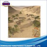 4 ' esteira impressa do jogo da batalha do jogo de guerra da forma de X 4 ' costume quadrado