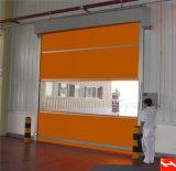 中国の高性能PVC急速なローラーシャッタードアの製造の製造者(HF-J317)
