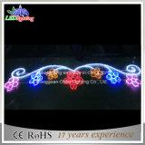 Multi farbiges Straßen-Motiv-Licht der Blumen-LED