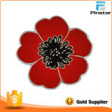 Beautifull Flower auf Your Chest, Delicate Metal Lapel Pin Badge, Factory Direct Sale