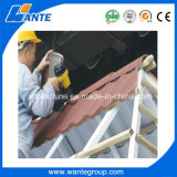 De uitstekende Sier Materiële Tegel van het Dakwerk van het Metaal van Linyi Wante/van de Vorm Zand Met een laag bedekte