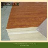 La carta superiore della melammina ha affrontato il compensato di legno del granulo