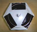 Présentoir tournant solaire hexagonal de produit vert d'énergie 010 (LH-010)