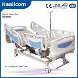 Cama de hospital eléctrica de la función del equipamiento médico cinco de China (DP-E001)