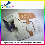 Rectángulo de papel plegable de empaquetado cosmético impreso brillante de lujo del rectángulo 2017