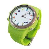 El perseguidor de la llamada de monitor de Gelbert GPS SOS embroma el reloj elegante