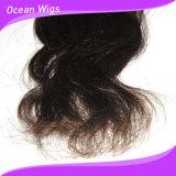 Волосы 100% волны волос Remy девственницы волос Quercy Weft бразильские естественные