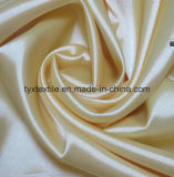 Satin 100% glacé de polyester de satin de couleur de satin