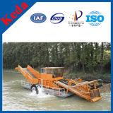 Hydraulische Wasserweed-Erntemaschine mit guter Qualität