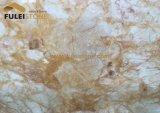 Basisrecheneinheits-Goldmarmor-goldener Marmor