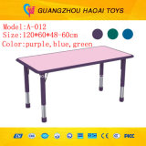 A cadeira de tabela plástica das crianças populares ajustou-se para o jardim de infância (A-09001)