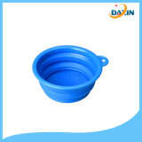 Vente en gros Portable Food-Grade Eco-Friendly Collapsible Silicone Foldable Bowl pour chien