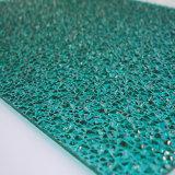 Feuille de polycarbonate gravée en relief grand par diamant pour la décoration d'intérieur