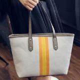 Signora di sacchetto di cuoio del Tote di colore di contrasto dei sacchetti di mano dell'unità di elaborazione di modo borse Sy7728