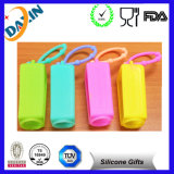 Nettes Portable Empty Hand Silicone Sanitizer Holders mit Pet Bottle