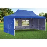 10X20 Steel Foldable Canopy Party Gazebo Tent for Outdoor Event