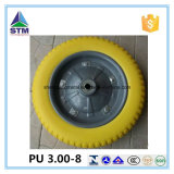 un'unità di elaborazione Foam Wheel di 2.50-4 3.00-4 3.50-4 400-8 Cina Highquality per Hand Trolley Truck Tool Cart Wheelbarrow
