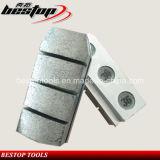 Bloc de meulage segmenté de base en aluminium de diamant pour le granit de meulage