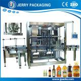 Máquina de rellenar embotelladoa automática llena de la botella de petróleo del contador de flujo