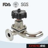 Нержавеющая сталь Санитарная 3 Way U Тип мембранный клапан (JN-DV1018)